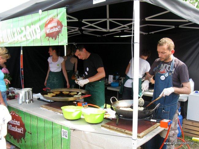 Warszawa - Street Food Festival - Placki ziemniaczane