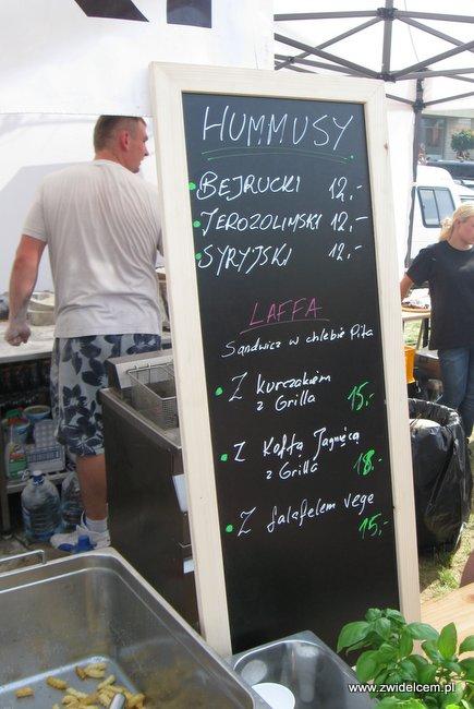 Warszawa - Street Food Festival - hummus
