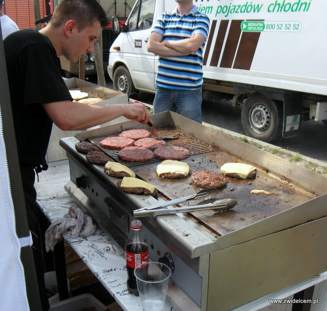 Warszawa - Street Food Festival - burgery