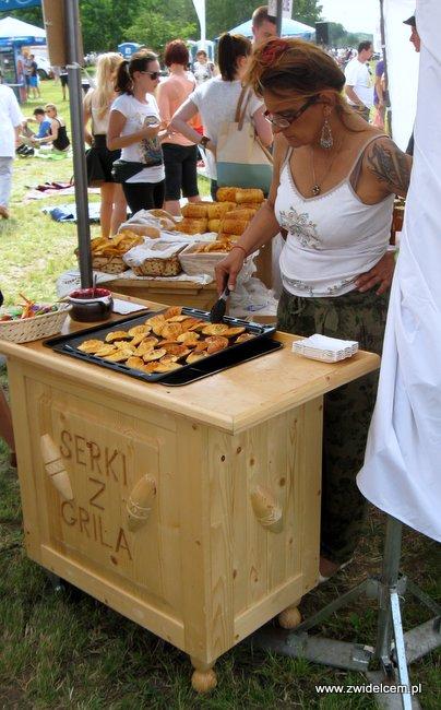 Warszawa - Street Food Festival - sery z grila