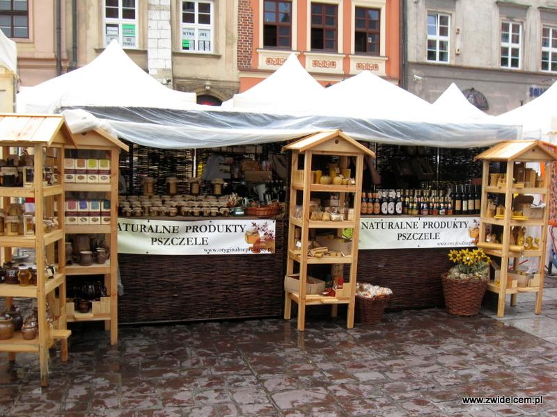 Kraków - Jemynapolu - Produkty Pszczele