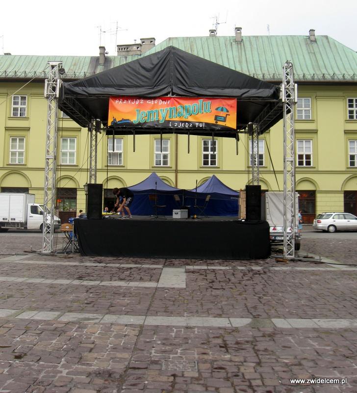 Kraków - Jemynapolu - scena