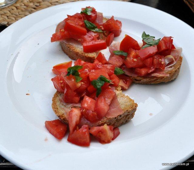 Kraków - Trufla - Bruschetta z pomidorami