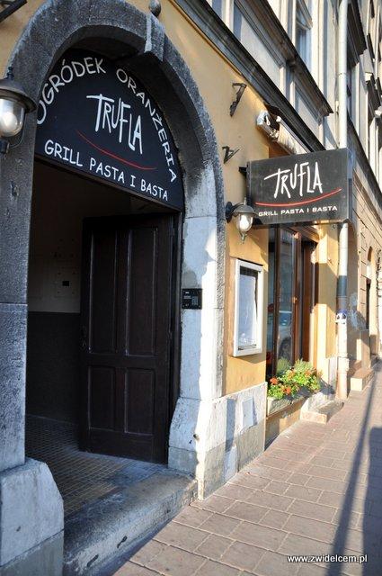 Kraków - Trufla - Wejście