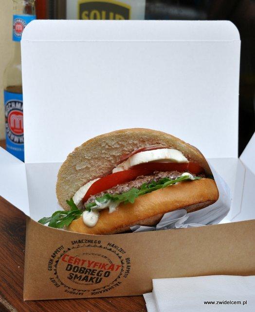 Kraków - Beef Burger Bar - Włoski Styl Burger z bliska