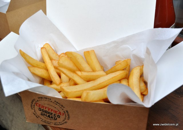 Kraków - Beef Burger Bar - Frytki