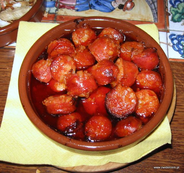 Warszawa - Sol y Sombra - Chorizo w oliwie