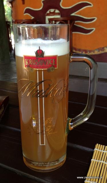 Morawy - Brno - Teepee - Piwo pszeniczne Krusovice