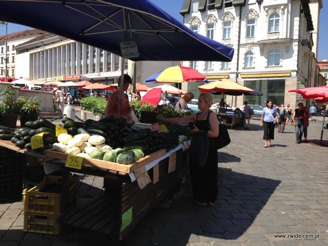 Morawy - Brno - Zelný trh - Cukinie