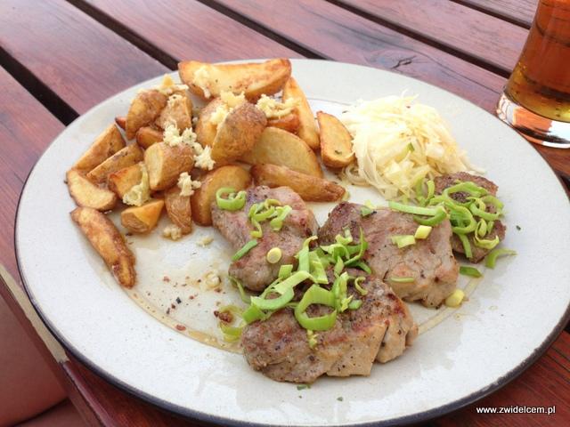 Morawy - Brno - Restaurace U Kotvy- Medaliony z polędwicy wieprzowej
