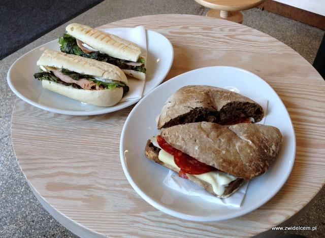 Kraków - Coffee Club - panini picante i panini parigi