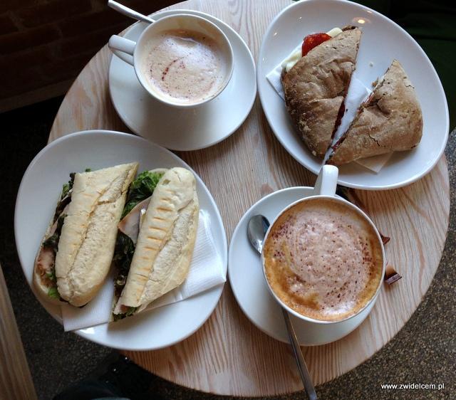 Kraków - Coffee Club - panini i kawa