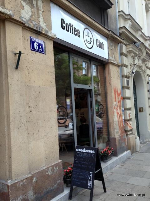 Kraków - Coffee Club - wejście