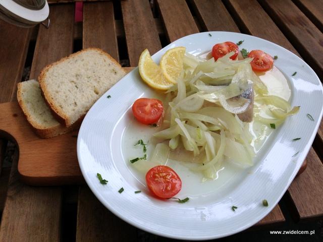 Kraków - Zielonki - Malinowy Anioł - Śledź z chlebem