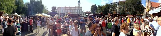 Kraków - Plac Wolnica - Małopolski Festiwal Smaku - panorama