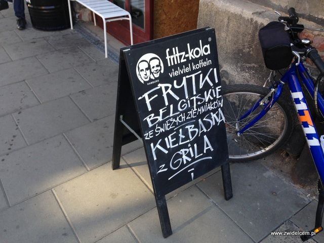 Kraków - Omom - stojak