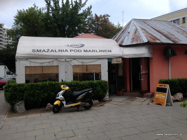 Kraków - Smażalnia Pod Marlinem - smażalnia z zewnątrz