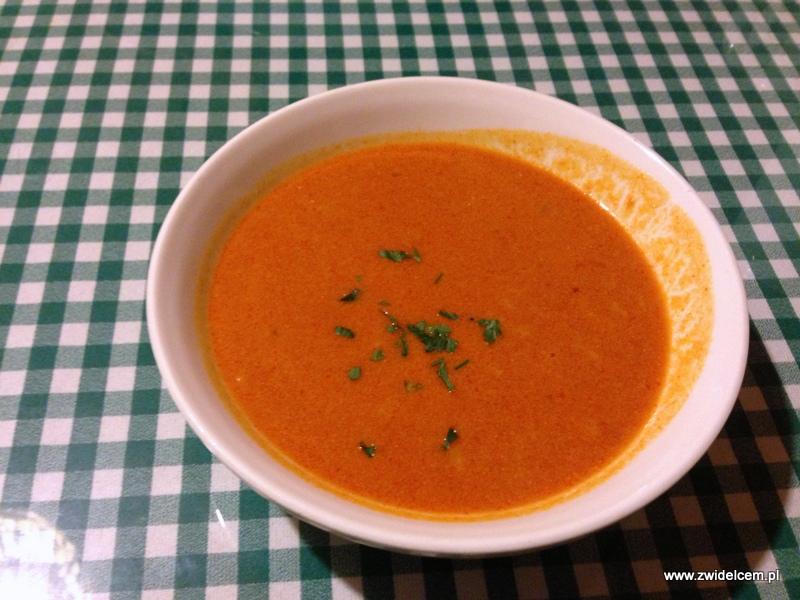 Kraków - Kuchnia u Doroty - zupa pomidorowa