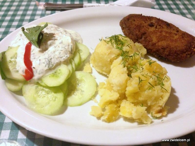 Kraków - Kuchnia u Doroty - mielony z ziemniakami