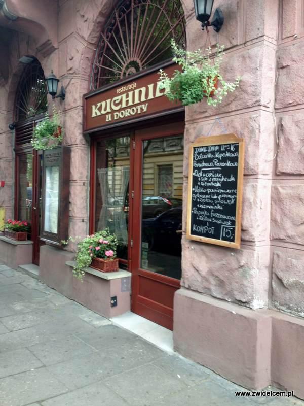 Kraków - Kuchnia u Doroty - wejście