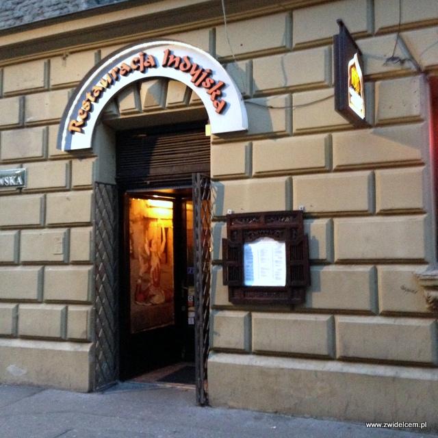 Kraków - Indus Tandoor - wejście