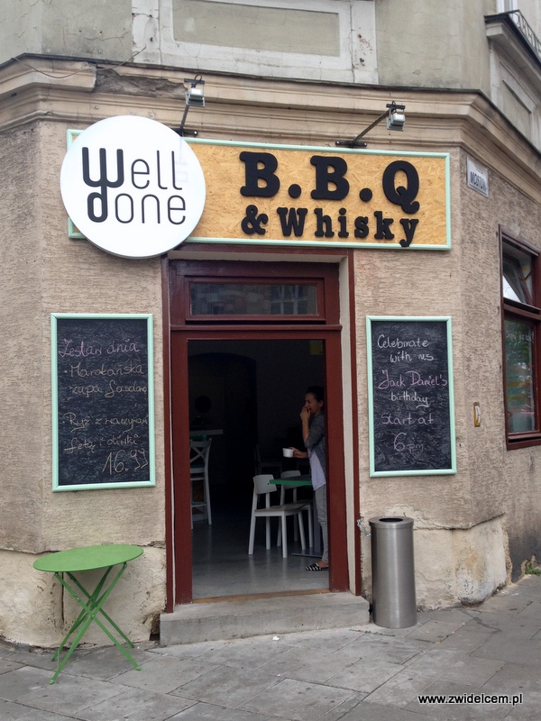 Kraków - Well Done - wejscie