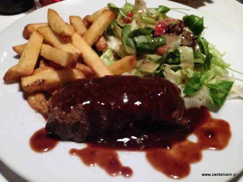 Kraków - Well Done - stek w winnym sosie pieczeniowym