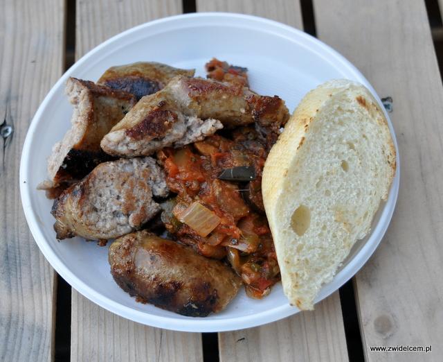 Najedzeni Fest Jesień - Salt & Pepper - salsicia z caponatą