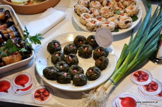 Najedzeni Fest Jesień - Gruzja na talerzu - szpinak z orzechami
