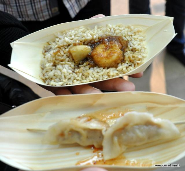 Najedzeni Fest Jesień - Kamo Bar & Grill - ryż i pierożki