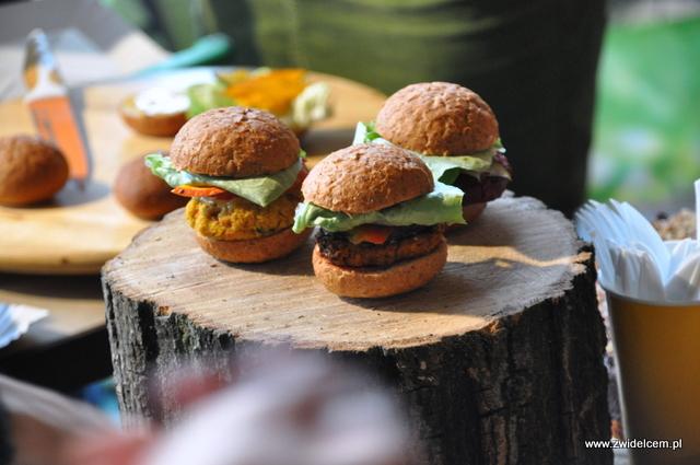 Najedzeni Fest Jesień - Spółdzielnia Organic Bar - burgerki