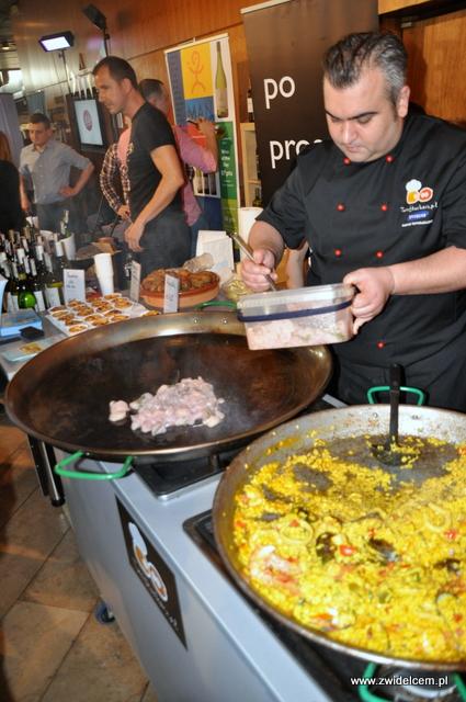 """Najedzeni Fest Jesień - Twój Kucharz - paella """"making of"""""""