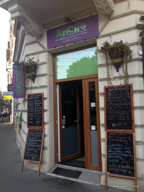 Kraków - Ancho - wejście