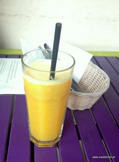 Kraków - Ancho - świeży sok z pomarańczy