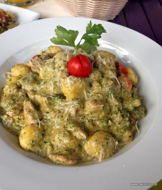 Kraków - Ancho - gnocchi w sosie z sera pleśniowego