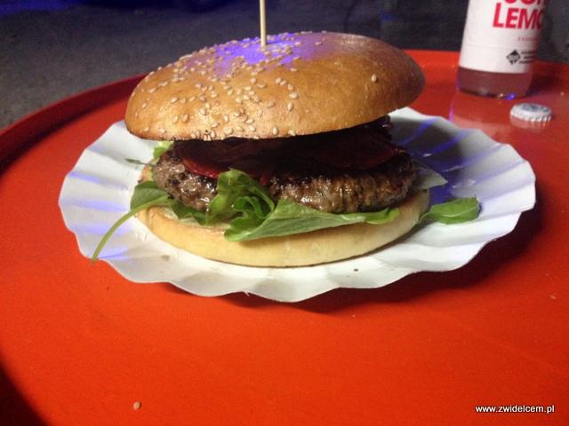 Kraków - BurgerTata - Rocket burger