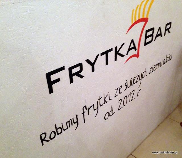 Kraków - Frytka Bar - slogan