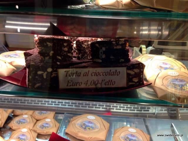 Piza - ciastko z czekoladą