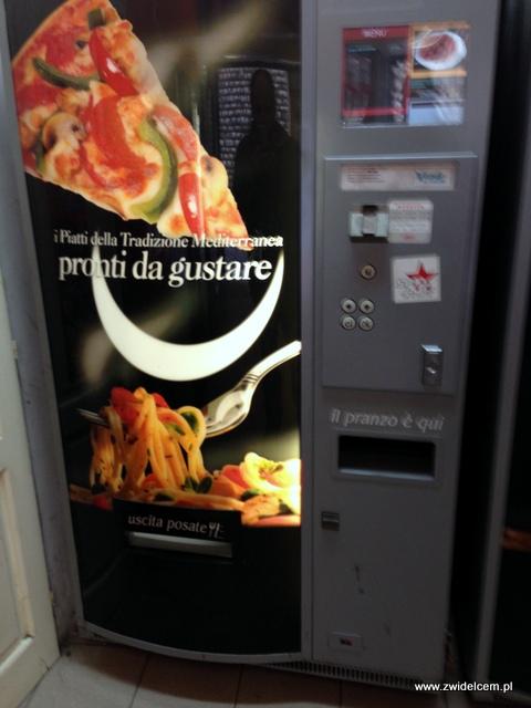 Piza - Automat z pizzą i makaronem