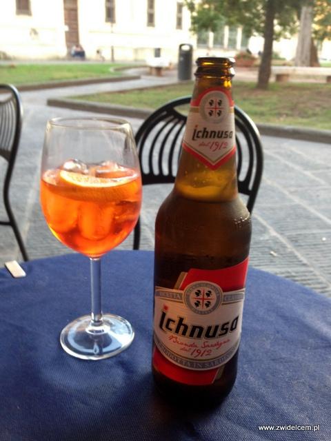 Pisa – piwo z Sardynii i Aperol Spritz