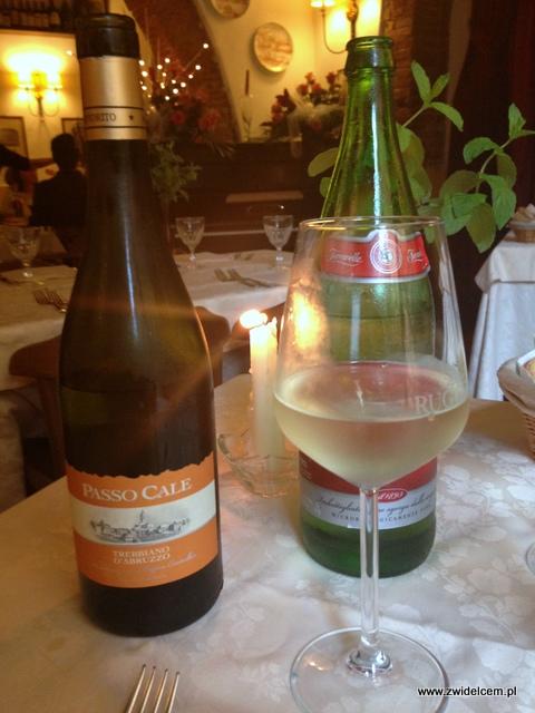 Piza - Repubbliche Marinare - wino i woda