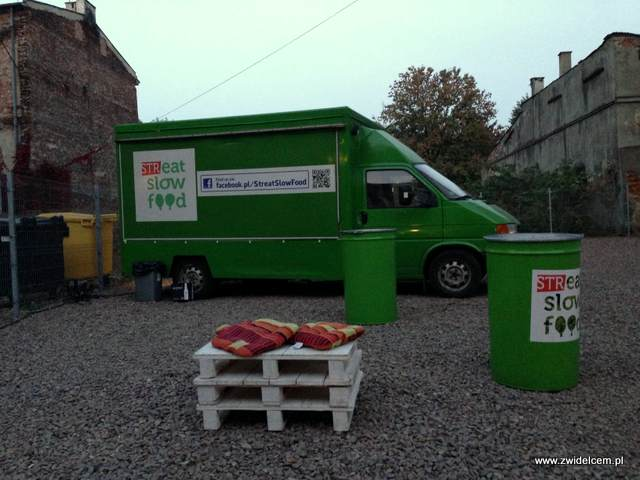 Kraków - Streat Slow Food - ciężarówka