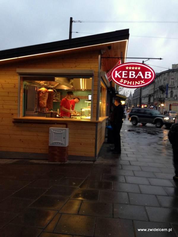 Kraków - Kebab Sphinx - budka