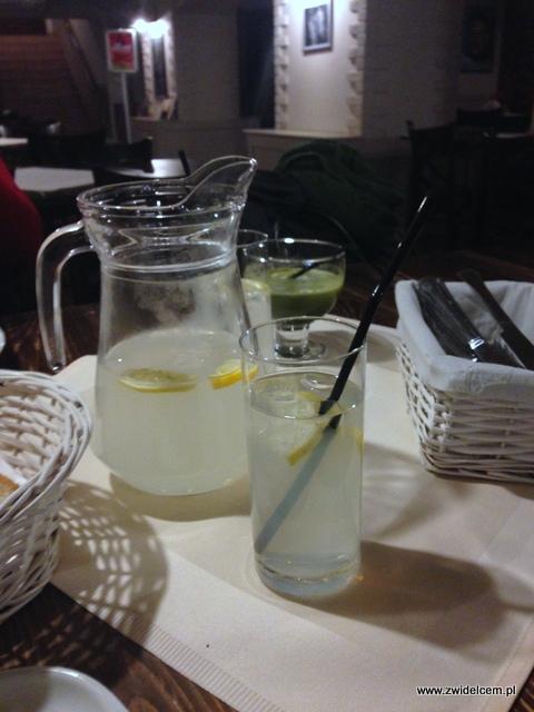 Kraków - Pod Sokołem - Lemoniada i Sok z pędów jęczmienia