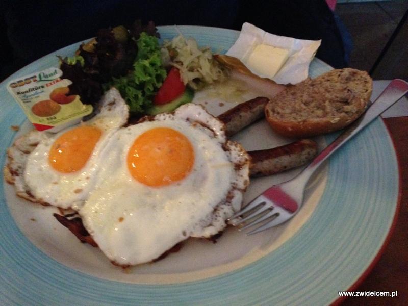 Berlin - Die Eins - śniadanie brytyjskie