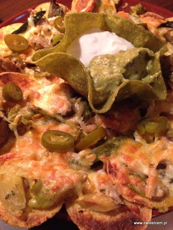 Berlin - Mojito Cantina Mexicana - nachos z warzywami