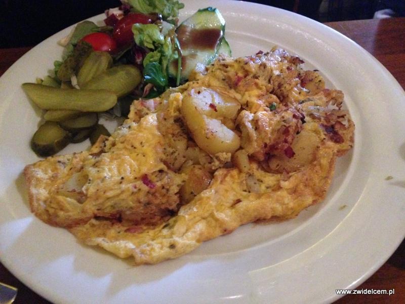 Berlin- San Cayetano - omlet z ziemniakami