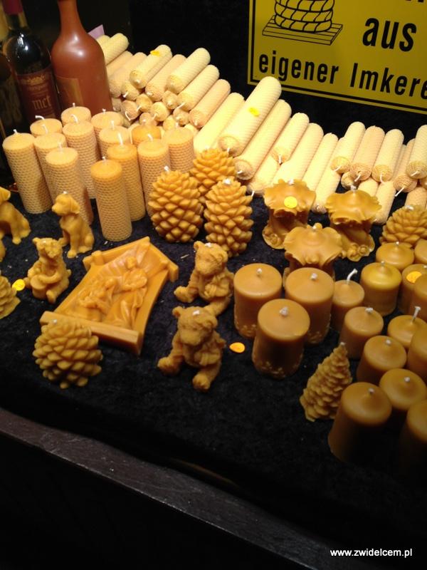 Berlin - weihnachtsmarkt charlottenburg - świeczki