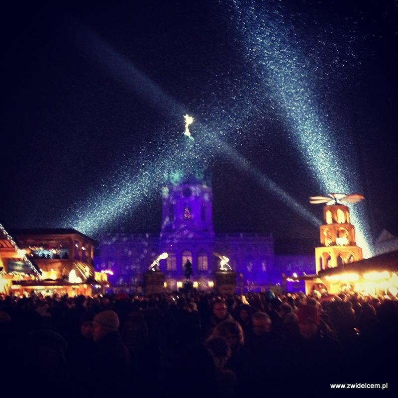 Berlin - weihnachtsmarkt charlottenburg - pałac