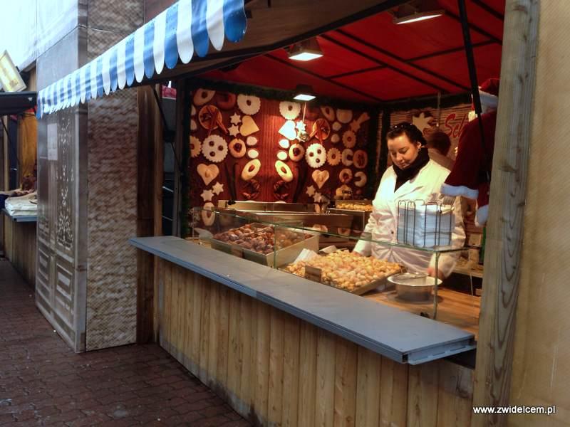 Berlin – Weihnachtsmarkt am Alezanderplatz - ciastka